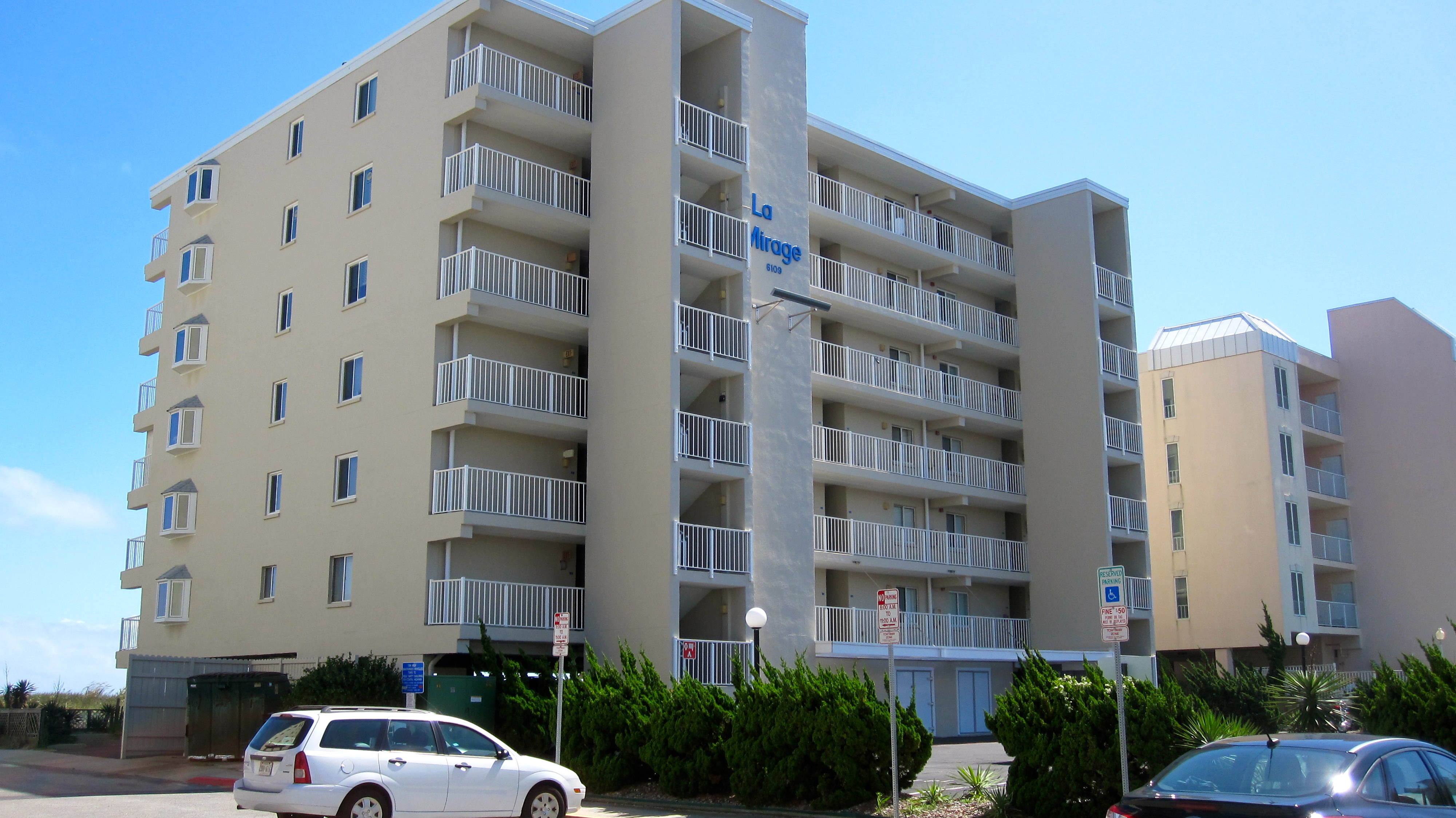 Just Listed: 506 La Mirage, Ocean City, MD – Super-Sized Ocean Front End-Unit!