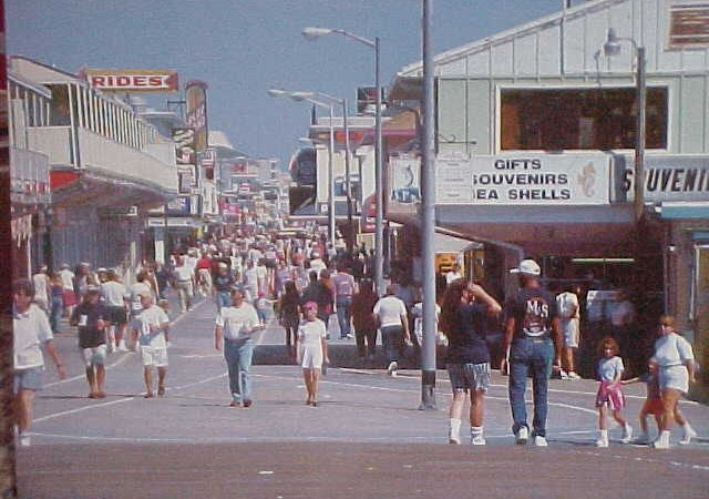 Ocean City Busy Streets