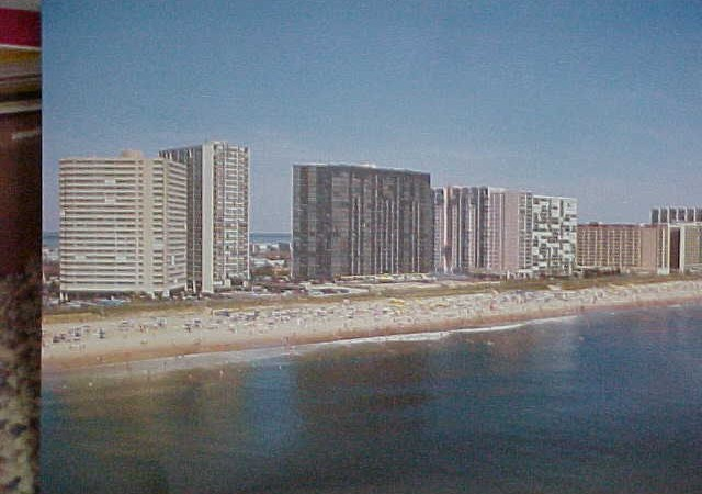 Ocean City Shoreline View