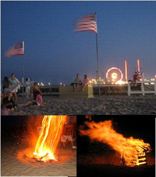 Ocean City Bonfire