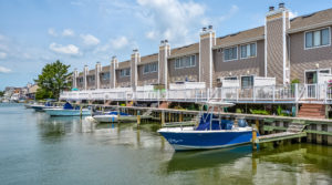 Just Listed: 40 Nassau Village, Ocean City – Waterfront Townhouse with Private Boat Dock!