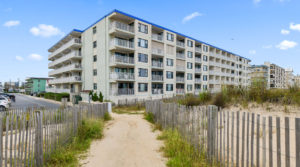 Just Listed: 105 Diamond Beach, Ocean City – Fantastic Direct Ocean Front Unit!